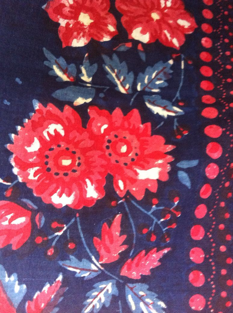 барановские платки в музее шали
