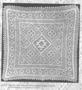 Пуховый платок вязание