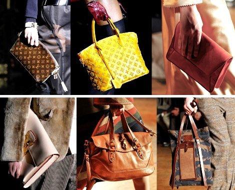 65f116f3bb51 Актуальные роскошные сумки из страусиной кожи, кожи питона, приветствуется  смешение фактур и цветов. В моде сумки строго геометричных форм вплоть до  ...