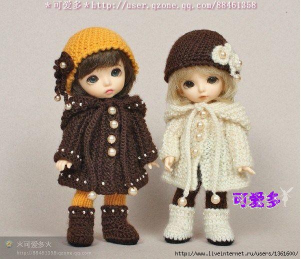 Мастер класс вязания одежды для кукол