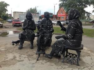 памятник пуховязальщицам