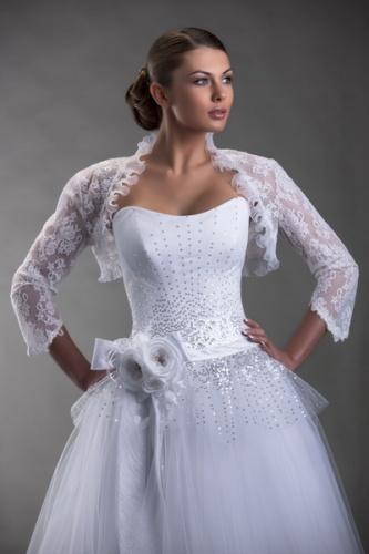 накидка к свадебным платьям
